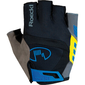 Roeckl Idegawa Gants, black/yellow